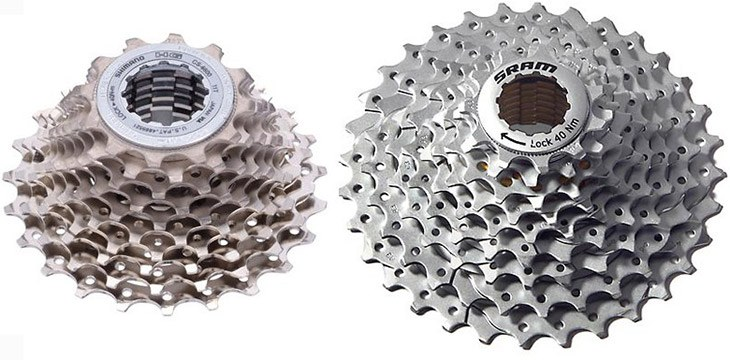 cycling cassettes
