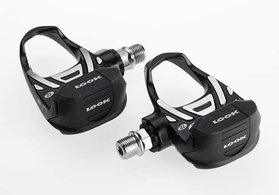 look delta traditional black pedals