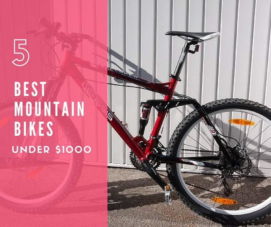 Top 5 Best Mountain Bike Under $1000