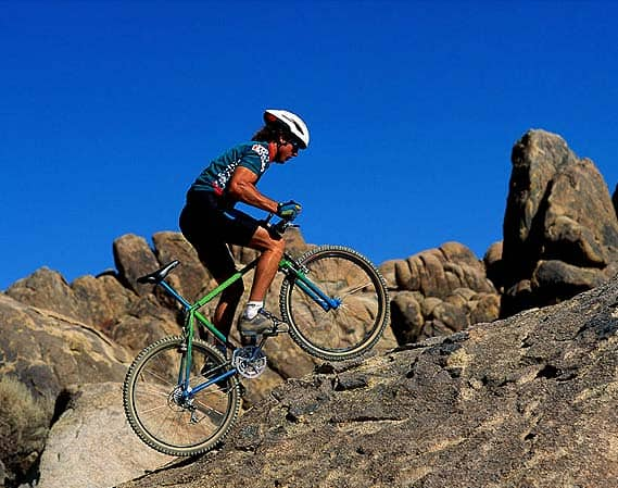how to mountain bike uphill over rocks