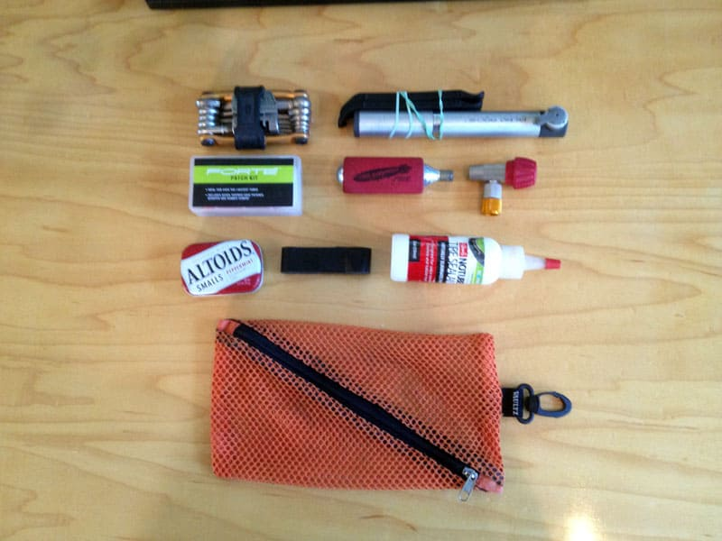 Bike emergency tools