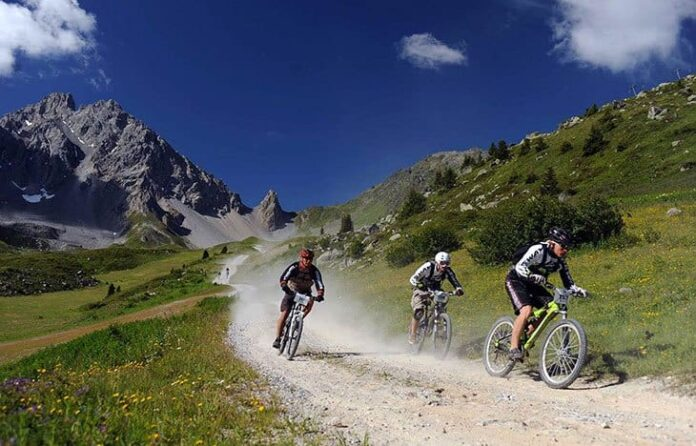 courchevel mountain biking