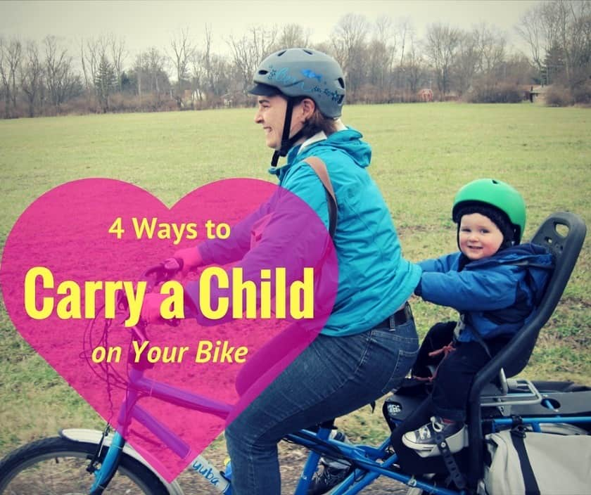 4 Ways to Carry a Child on Your Bike