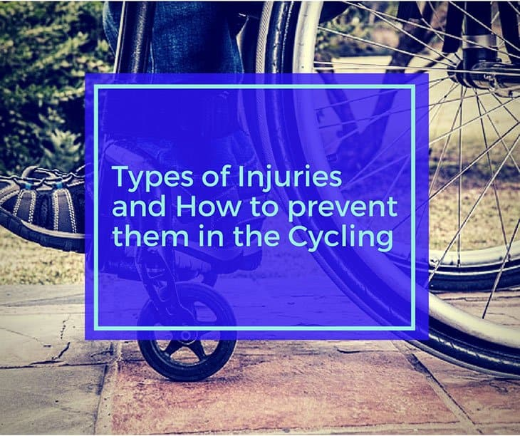 Types of Injuries and How to prevent them in the Cycling