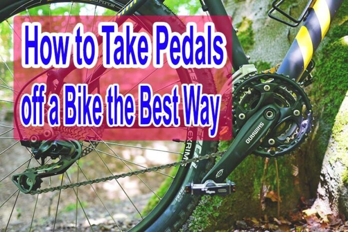 Bike Maintenance 101 - How to Take Pedals off a Bike the Best Way