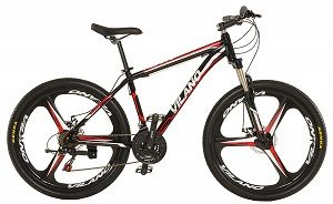 Vilano 26 Mountain Bike Ridge 2.0 MTB 21 Speed Shimano with Disc Brakes