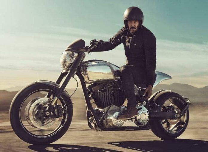 Keanu Reeves Motorcycle Company - KRGT-1 - Arch ...
