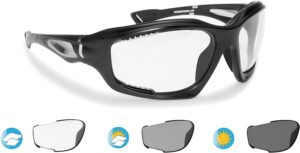 Bertoni Sports Polarized Sunglasses Antifog Photochromic Cycling Ski Running Golf mod