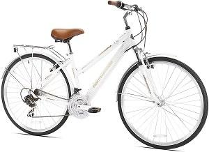 Kent Springdale Women's Hybrid Bicycle, White