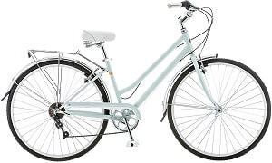 Schwinn Wayfarer Bike Mens and Womens Hybrid Retro-Styled Cruiser, 7-Speed