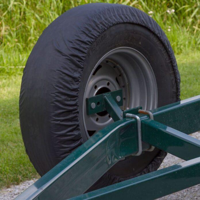 trailer tire Storage