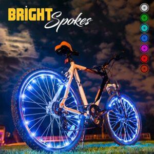 Bright Spokes Premium LED Bike Wheel Lights