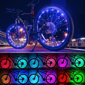 Evaduol Bike Wheel Lights