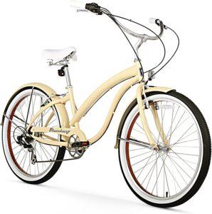 Firmstrong Bella Fashionista 7-Speed Beach Cruiser Bicycle