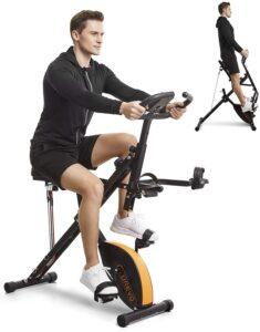 UREVO Stationary Exercise Bike
